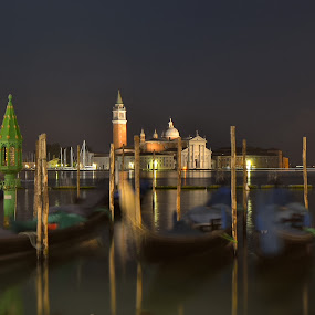 Venice by Albergamo Paolo - Landscapes Travel ( paolo albergamo, venice, lake, night, landscape )