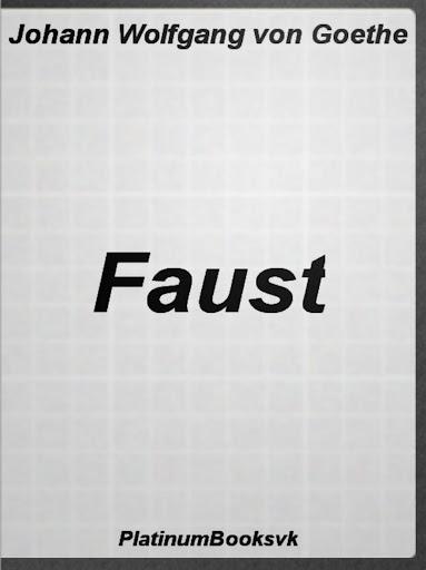 Faust. J.W. von Goethe.