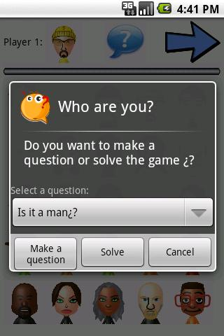 Who are you? (Guess Who?)- screenshot
