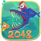 Fish Predator 2048 icon