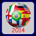 Brazil 2014 Countdown icon
