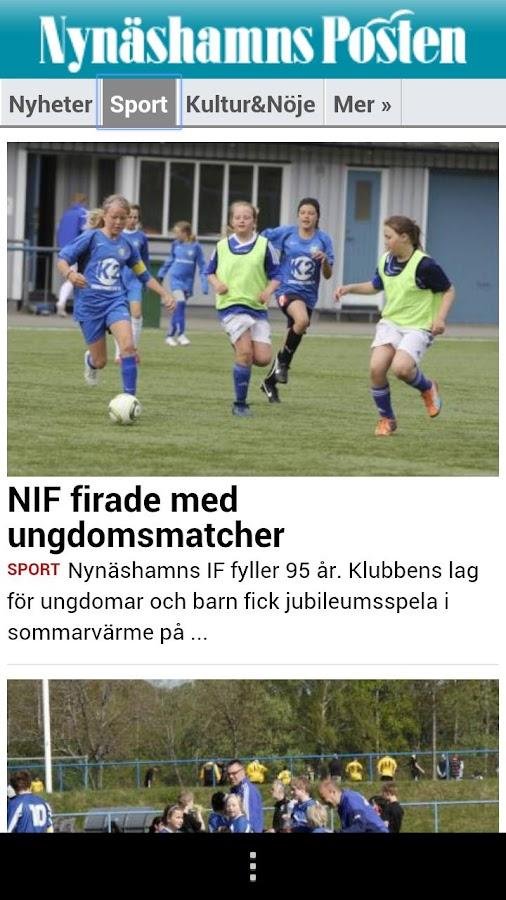 Nynäshamns Posten - screenshot