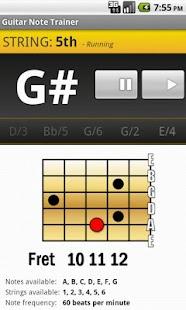 Guitar Note Trainer