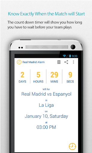 Real Madrid Alarm