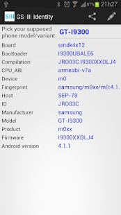 Galaxy SIII Identity - screenshot thumbnail