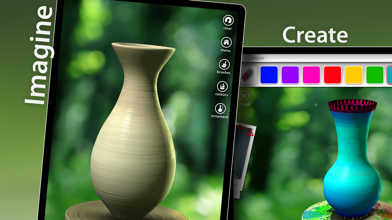 Screenshots of Let's Create! Pottery Lite for iPhone
