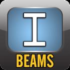 Steel Beam Bulk Checker. Shape icon