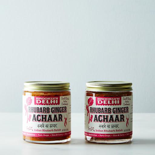 Rhubarb Ginger Achaar (2 Jars)