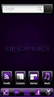 Screenshot of ADWTheme Incredible Purple