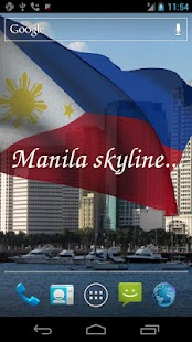 3D Philippines Flag LWP- screenshot thumbnail