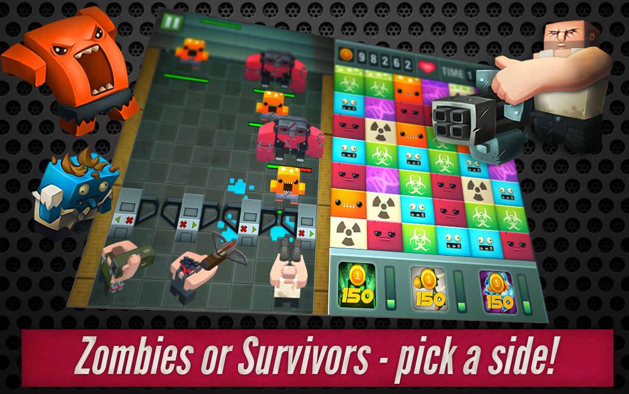 Zombie Puzzle Invasion - screenshot