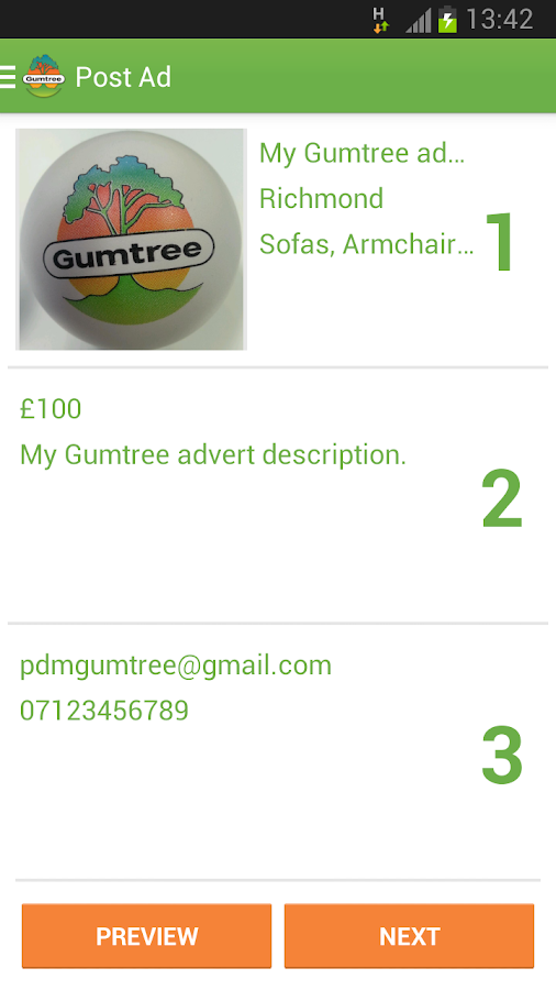 Gumtree- screenshot