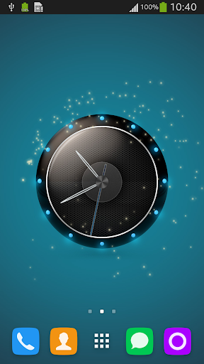Live Wallpaper Clock for HTC