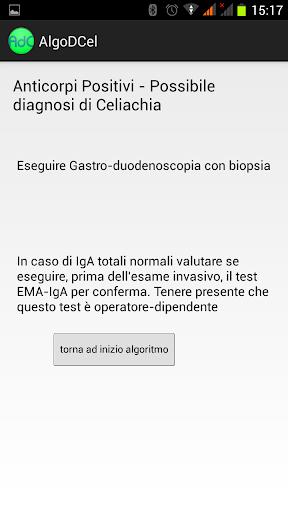 Algoritmo Diagnosi Celiachia