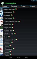 Screenshot of Prima Pagina
