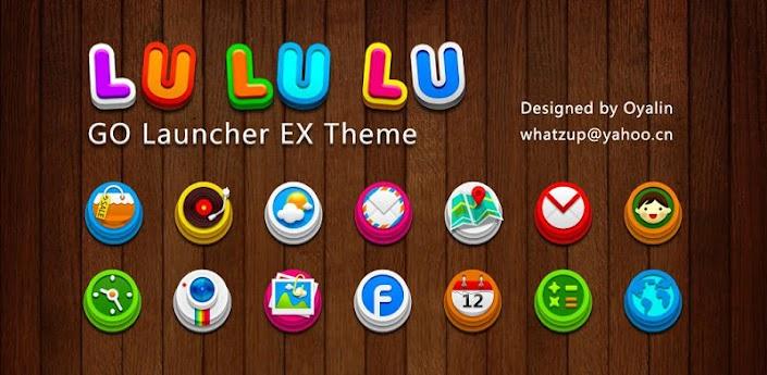 LuLuLu GO Launcher EX Theme