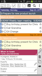 Pocket Informant 3 Demo - screenshot thumbnail