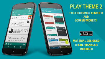 Screenshot of Play Theme for LLX and Zooper