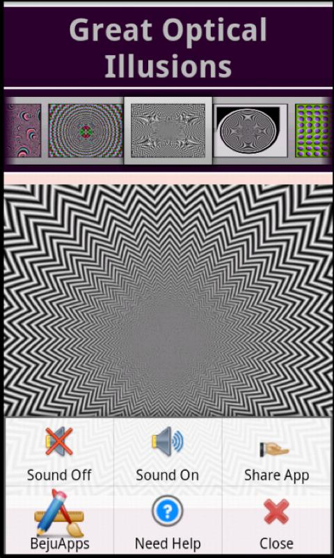 Great Optical Illusions- screenshot