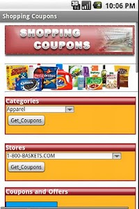 Shopping Coupons screenshot 0