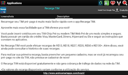 Brazil Android - screenshot thumbnail