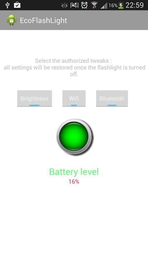 Eco Flashlight- screenshot