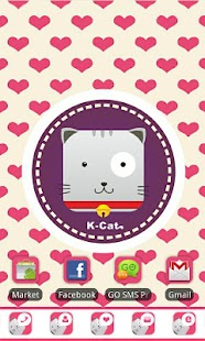 Kcat Theme GO Launcher EX - screenshot thumbnail