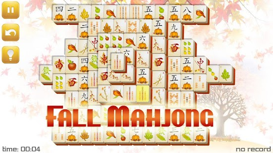 Fall Mahjong - screenshot thumbnail