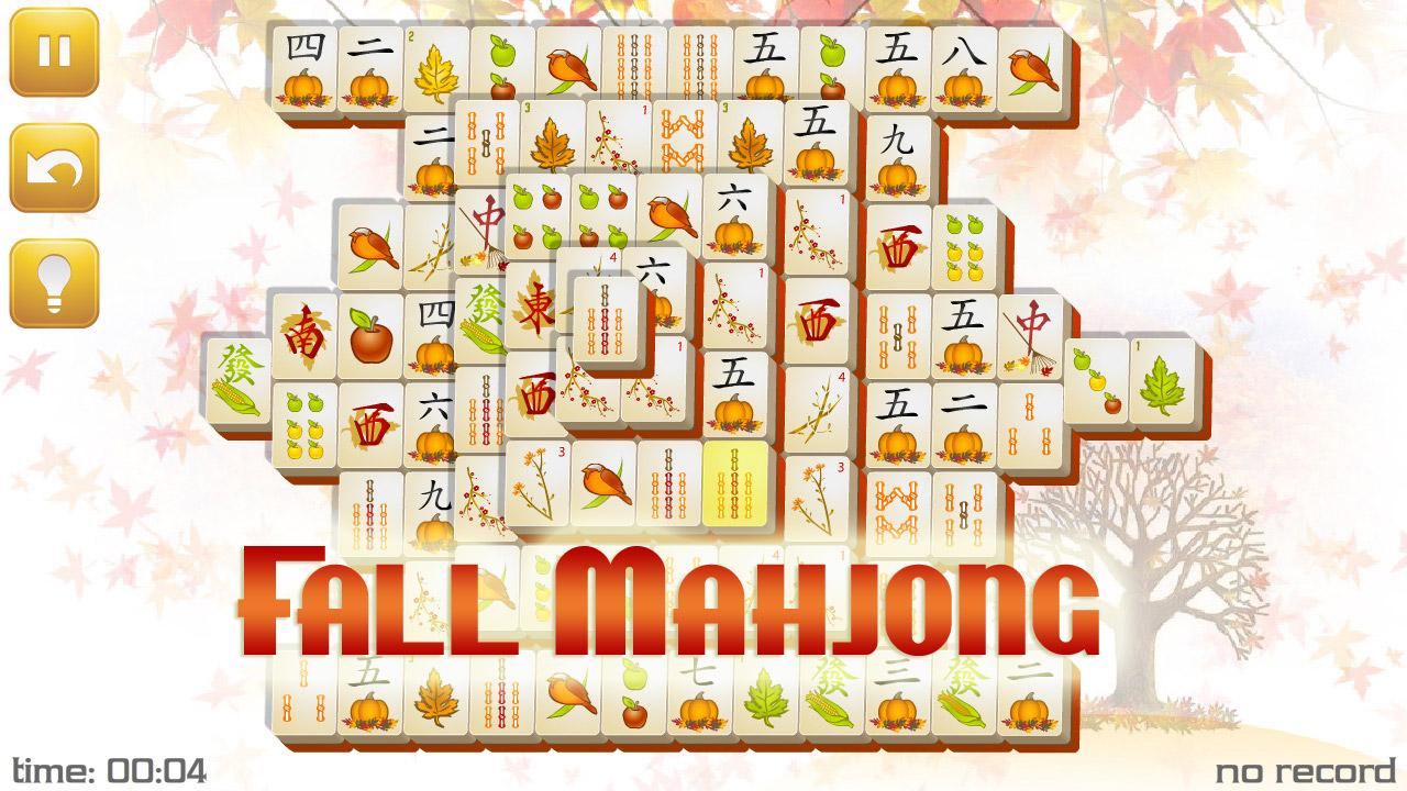 Fall Mahjong - screenshot