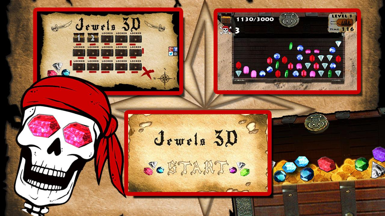 Jewels 3D- screenshot