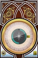 Screenshot of Qibla Compass