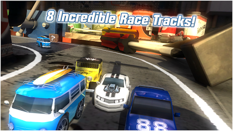 Table Top Racing Free Screenshot 1