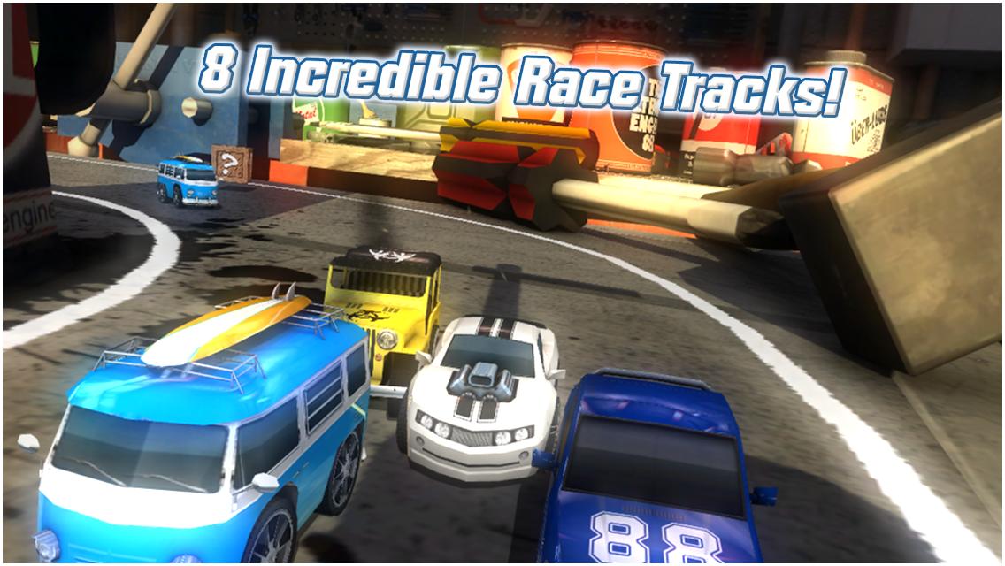 Table Top Racing Free screenshot #8