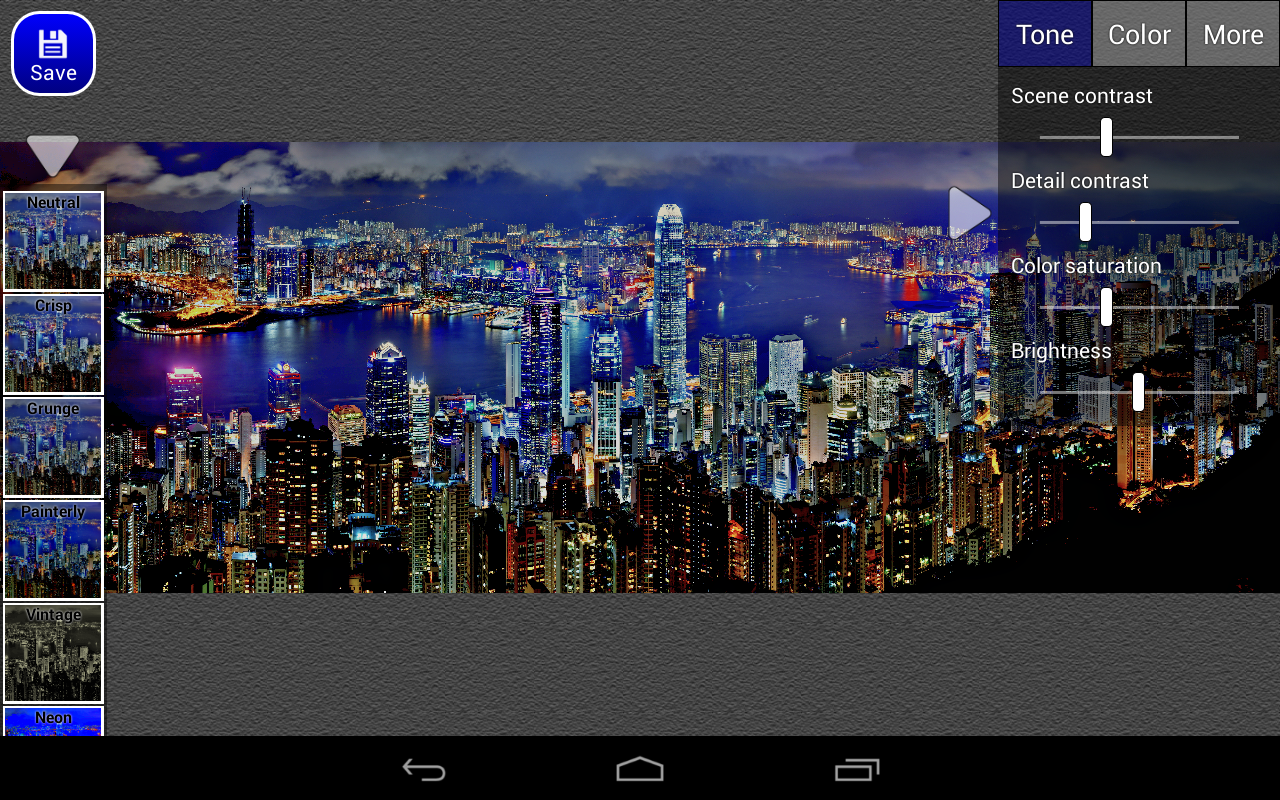 HDR Edit Pro - screenshot