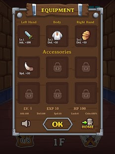 7 Dungeon Quest App screenshot