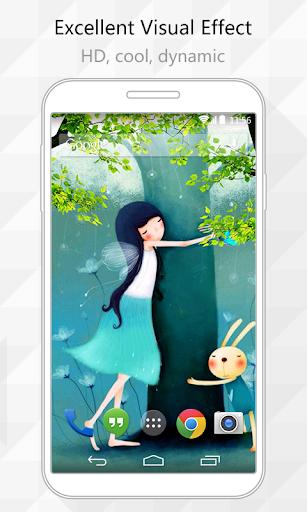 Hug Nature Live Wallpaper