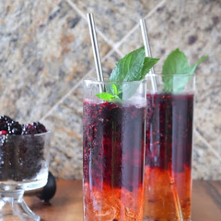 Blackberry Moscow Mules.