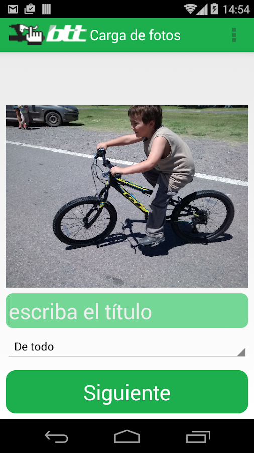 BTT Bicicletas todo terreno- screenshot