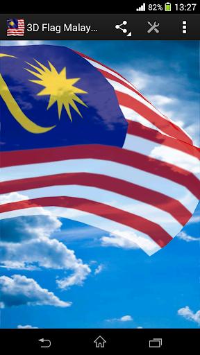 3D Flag Malaysia LWP