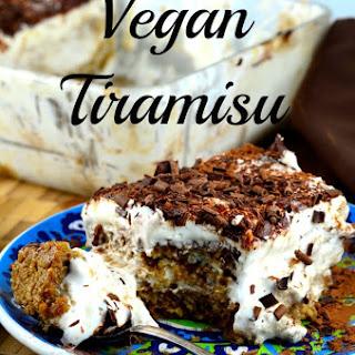 Vegan Tiramisu