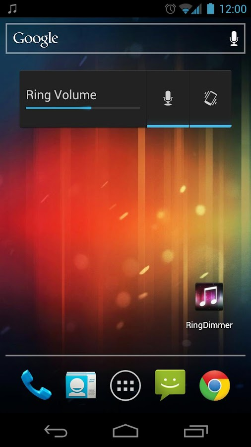 RingDimmer - screenshot