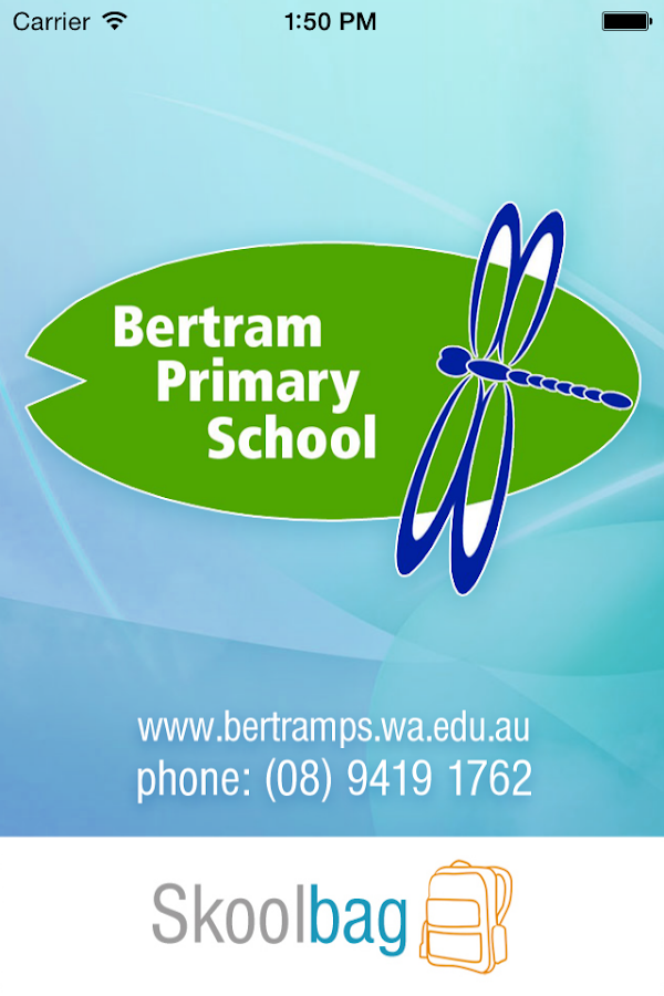 Bertram Primary School- screenshot