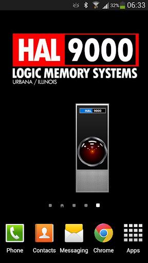 HAL 9000 Battery Widget