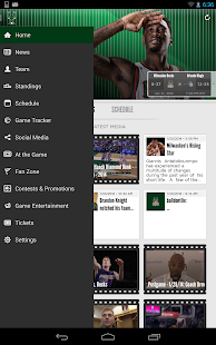 Milwaukee Bucks - screenshot thumbnail