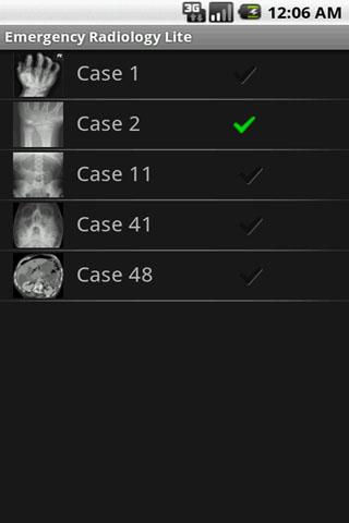 Emergency Radiology Lite - screenshot