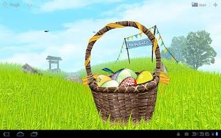 Screenshot of Easter Meadows Free Wallpaper
