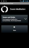 Screenshot of Zazen Meditation Timer