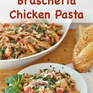 Make it a Viva Italia Night with Bruschetta Chicken Pasta!