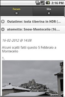 RumoreDigitale - screenshot thumbnail