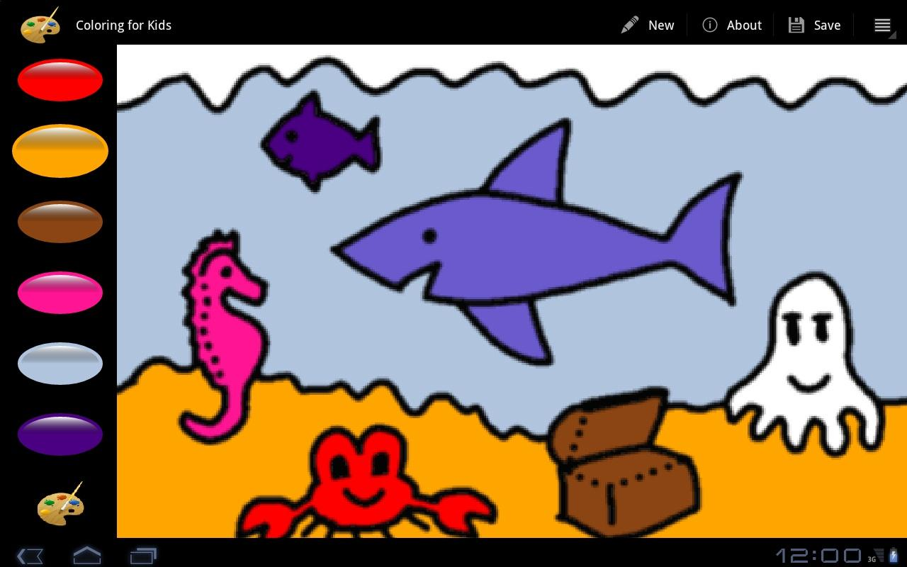 Coloring For Kids - screenshot